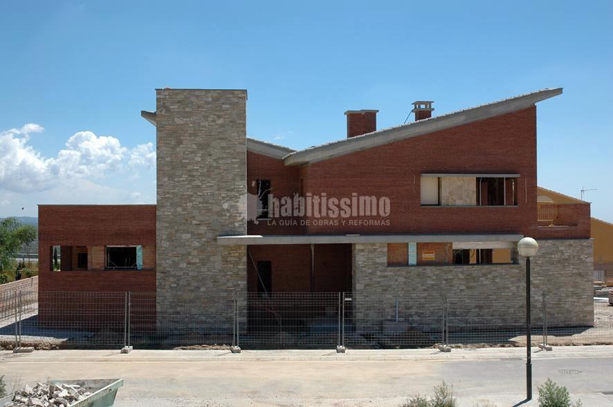 Construcción Casa Unifamiliar Aislada