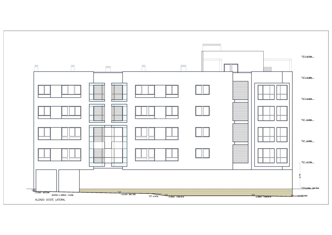 Nueva obra: 68 viviendas en el Ensanche de Vallecas