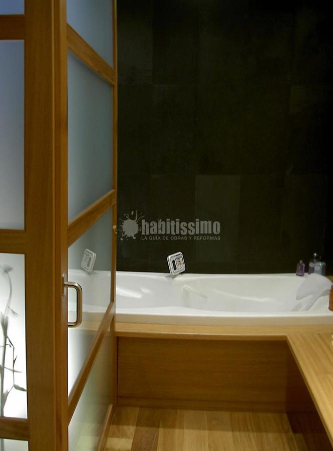Baño Spa en terraza y jardín Zen