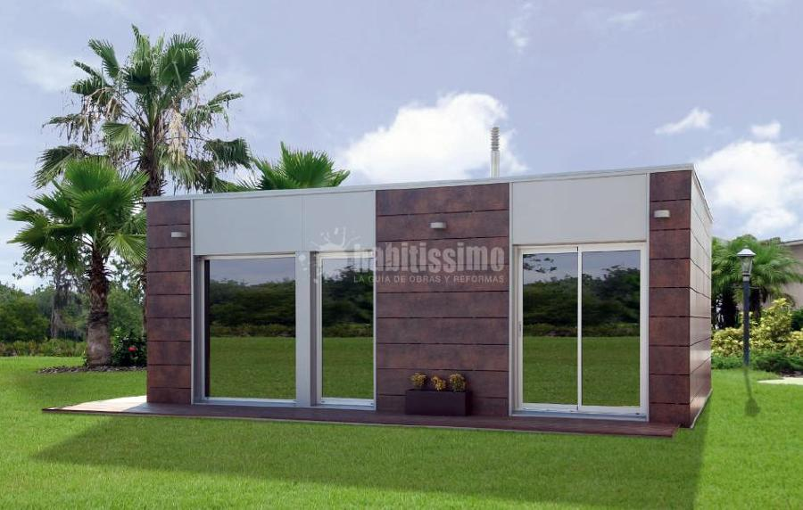 Casas modulares proyectos construcci n casas for Puertas prefabricadas precios
