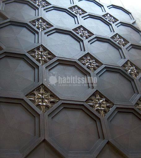 Techos artesonados / coffered ceilings / decoración tradicional / traditional decoration