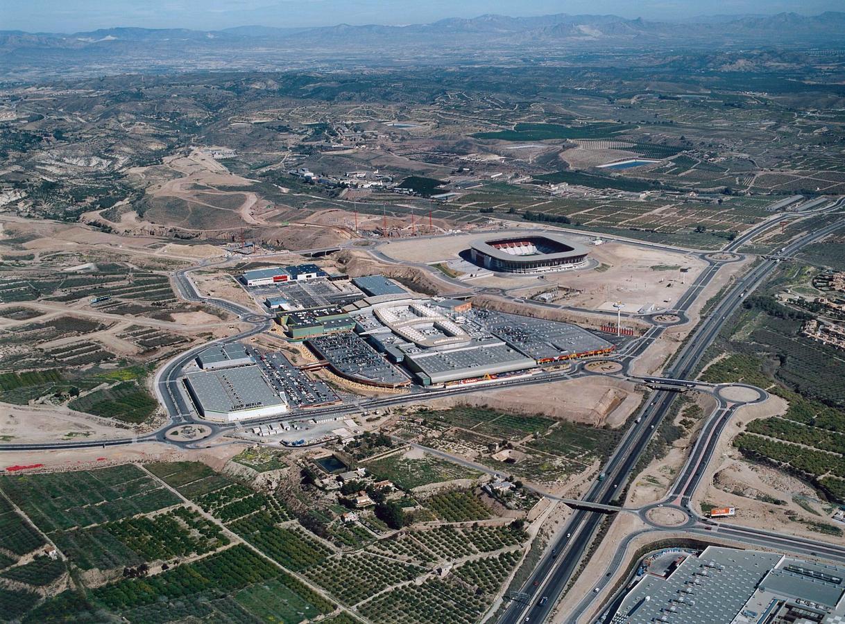 Proyecto de Construcción de la urbanización de La Nueva Condomina