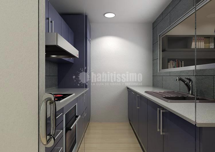 Un garaje convertido en vivienda - Premià de Mar