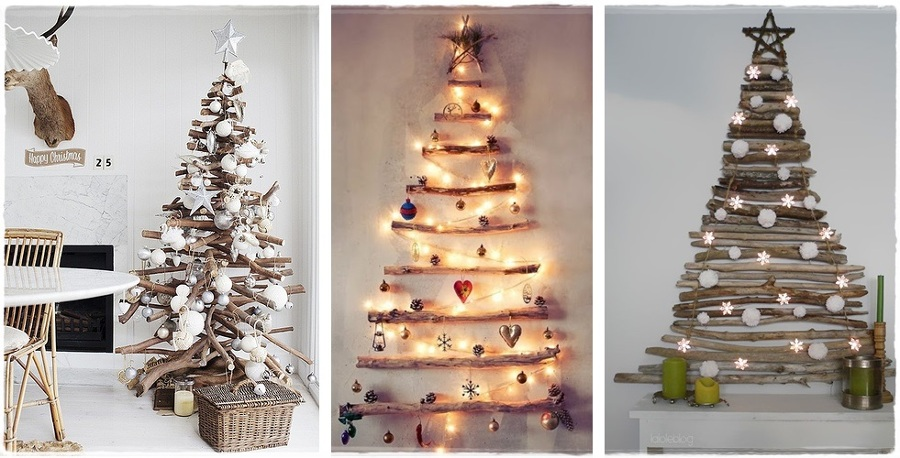 Decoraci n natural troncos y ramas en tu hogar ideas - Decoracion con ramas de arboles ...