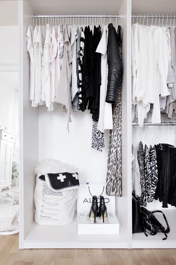 Qu tipo de armario me conviene ideas decoradores - Cortinas para armarios sin puertas ...