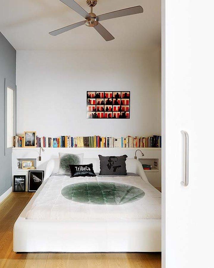 Ventiladores de techo en habitación