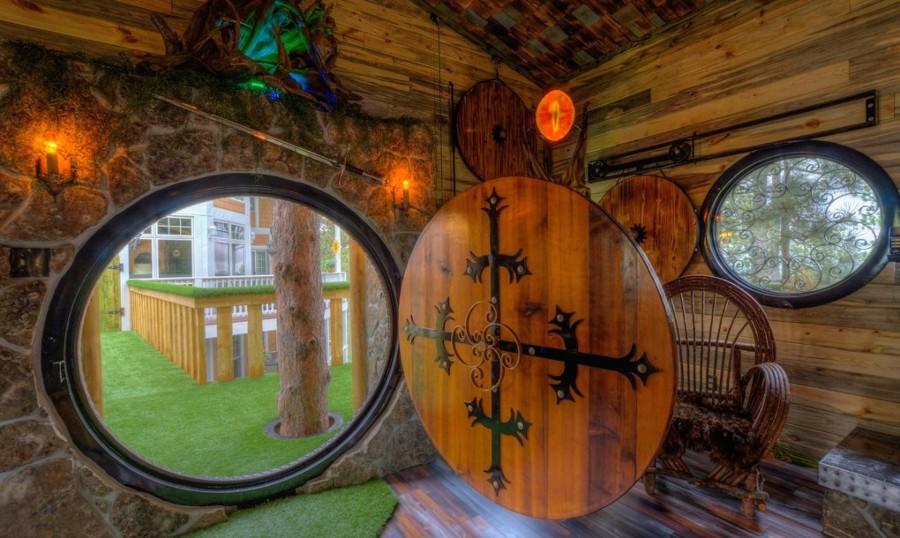 casa de árbol hobbit
