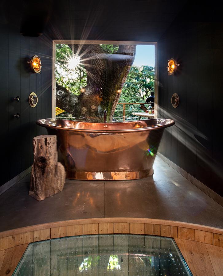 baño de La más lujosa del mundo