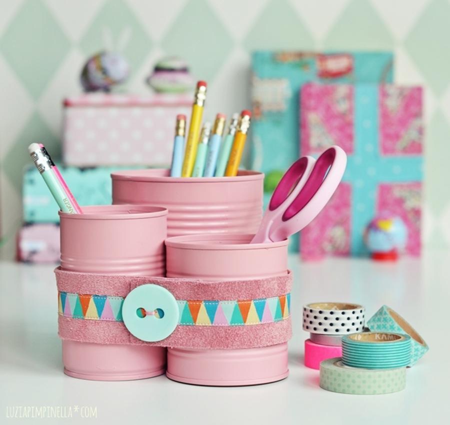 No tires las latas rec clalas para decorar tu hogar - Hacer bolis en casa ...