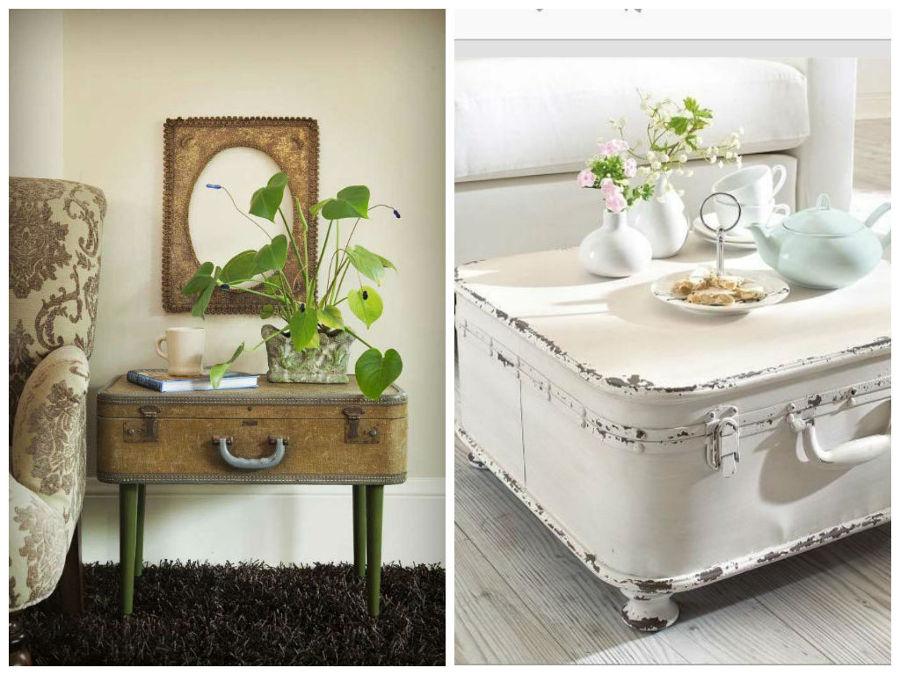 Foto maletas hechas mesas de rox comunicaci n 839713 for Muebles de jardin antiguos