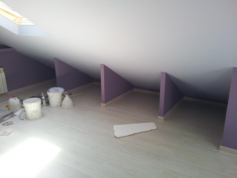 Apertura de buhardilla y ampliacion con terraza exterior - Armarios para buhardillas ...