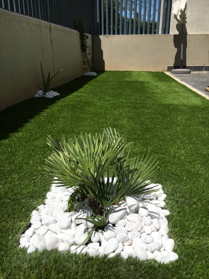 Foto acabado c sped artificial de arag n verde servicios medioambientales 1213633 habitissimo - Cesped artificial zaragoza ...