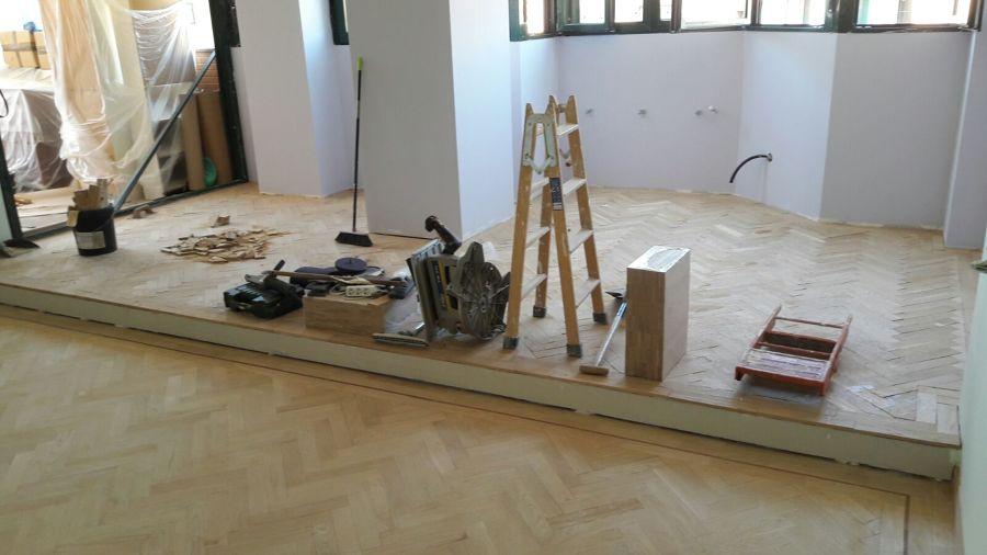 Acabado de pegar madera