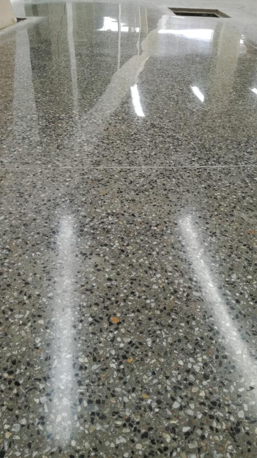 Hormig n pulido y abrillantado ideas pulir suelos - Hormigon pulido para interiores ...