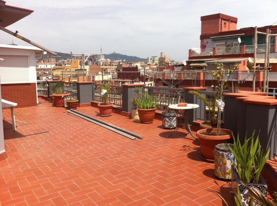 Acabado terraza ático
