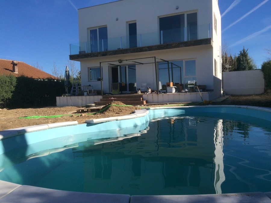 Piedra para piscina great piedra para piscina zen with - Piedras para piscinas ...