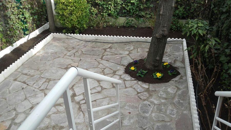 acabados de suelo y jardin