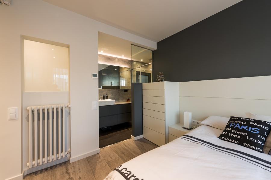 Acceso baño privado | Proyecto de reforma París