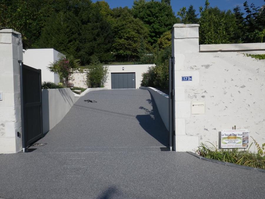 Acceso casa y garage