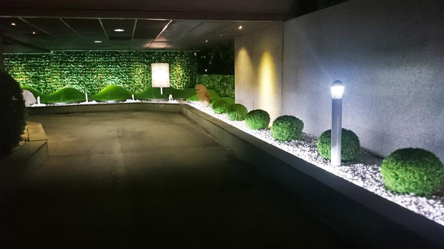 Acceso de noche