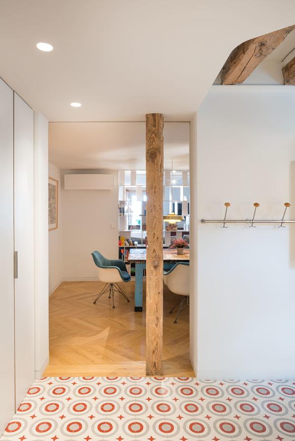 acceso salon desde la cocina