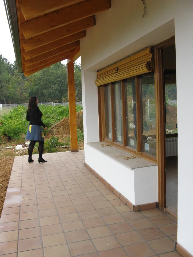 Acceso vivienda desde el porche