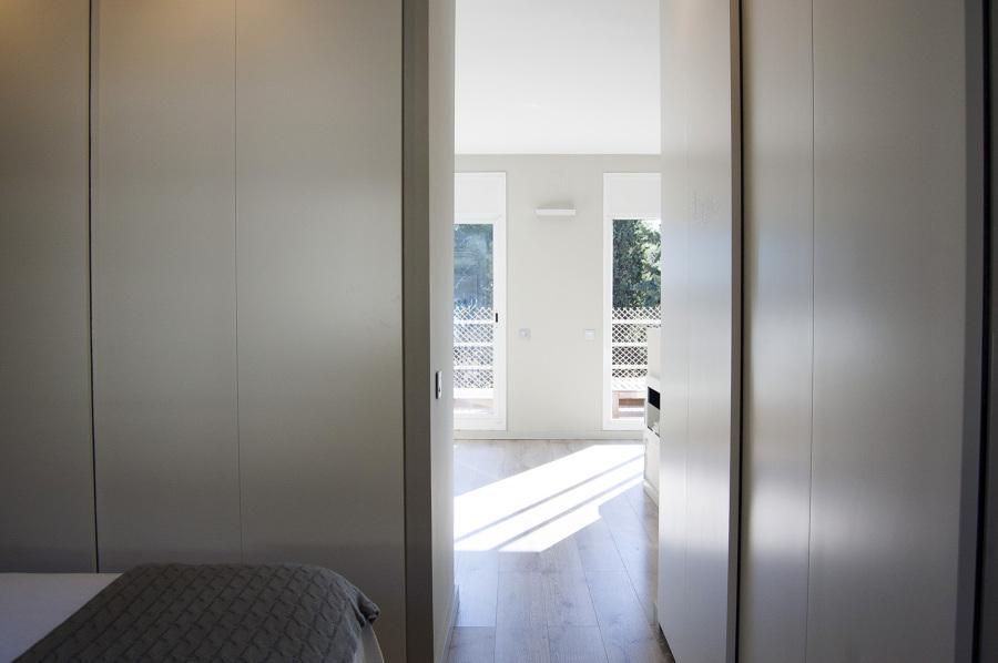Acceso zona dormitorio