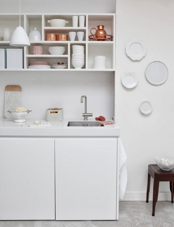 10 ideas para conseguir que el cobre sea el protagonista for Accesorios cocina
