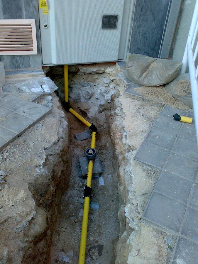 Foto acometida de gas natural de construcciones for Gas natural malaga