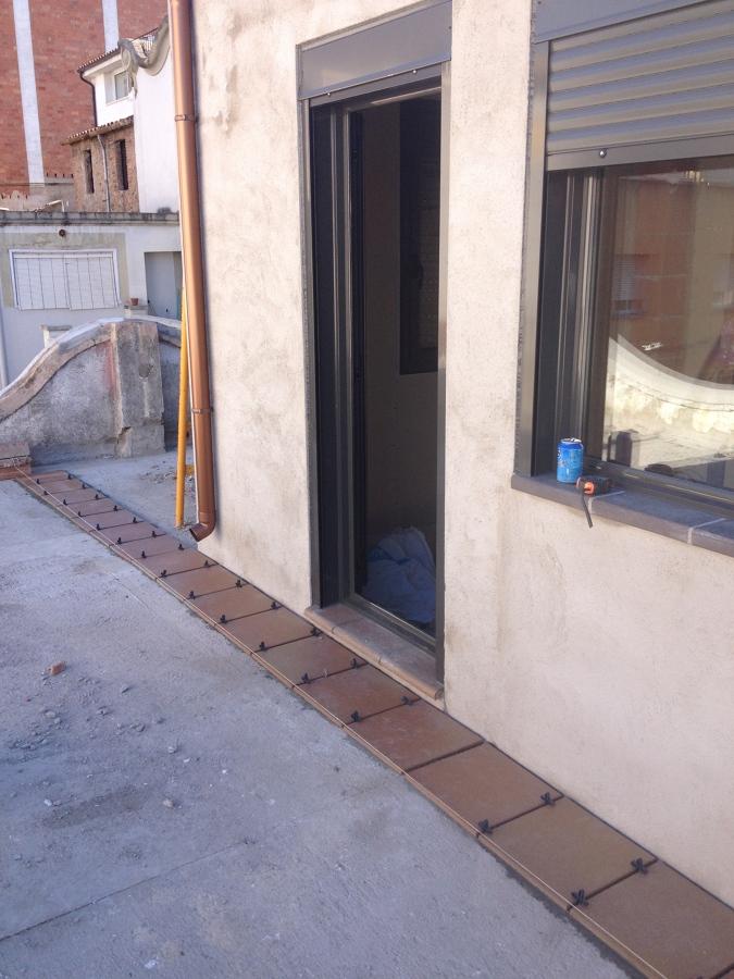 Acondicionamiento fachada y terraza