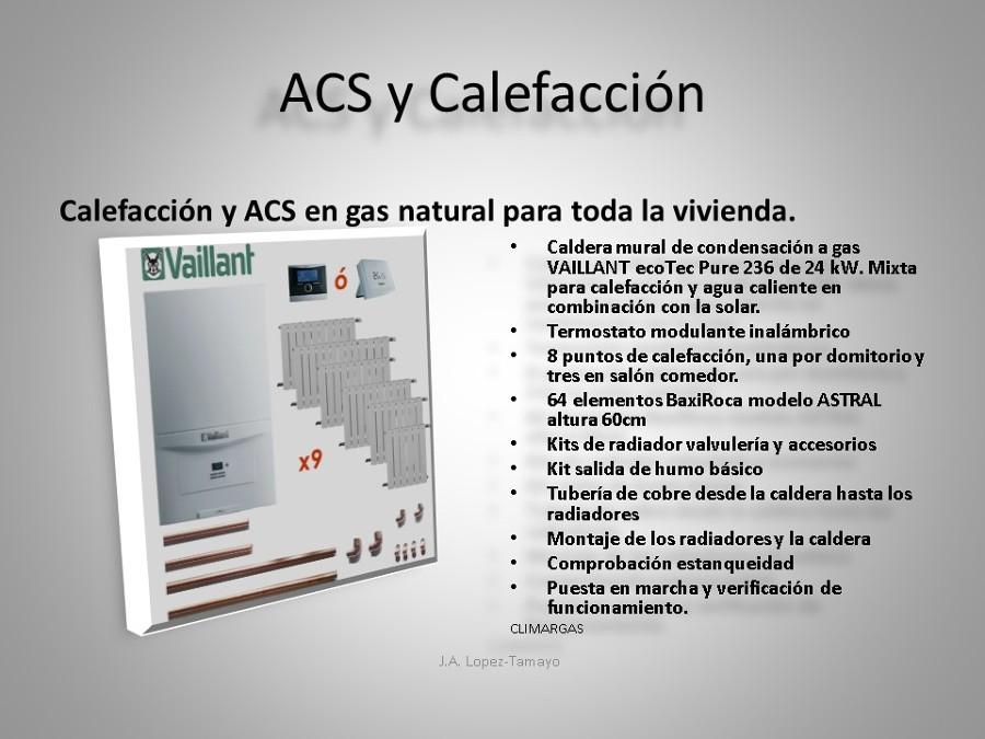 ACS Y CALEFACCION