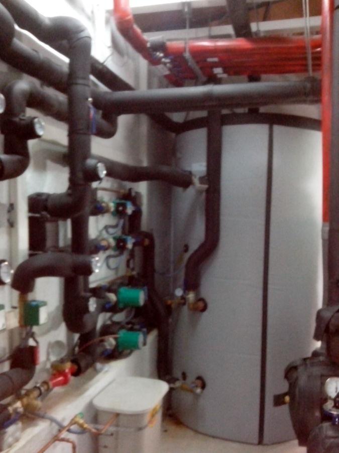 Acumulador de inercia para calefacción
