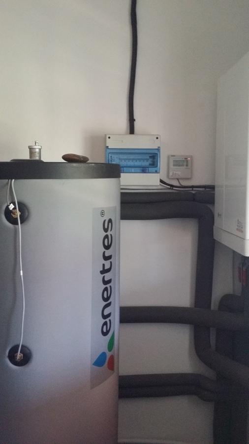Acumulador doble intercambiador 300 litros