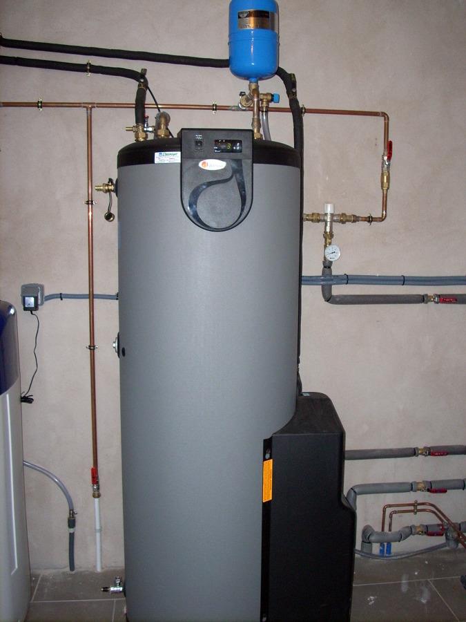 Foto acumulador solar 300 litros e acs de calor y agua - Agua caliente solar ...