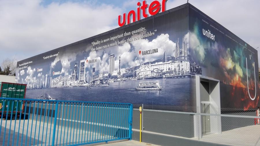 Adecuación nave industrial para empresa Uniter