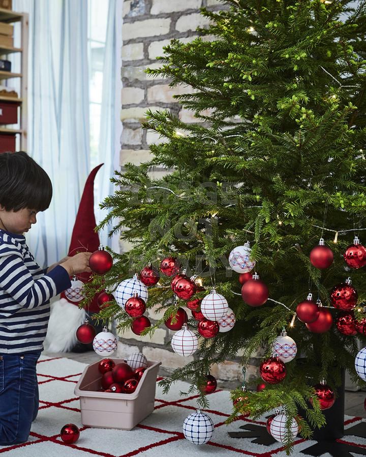 Adornos navideños para el árbol de navidad de la colección VINTERFEST IKEA
