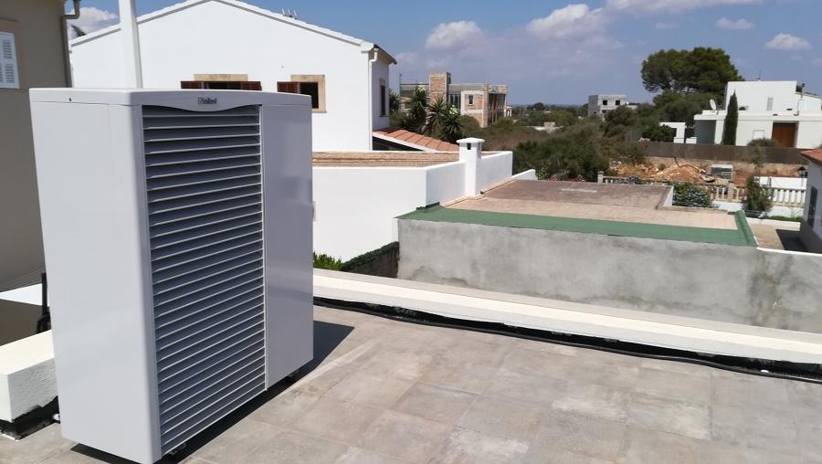 Aerotherm de VAILLANT 16 Kw térmicos