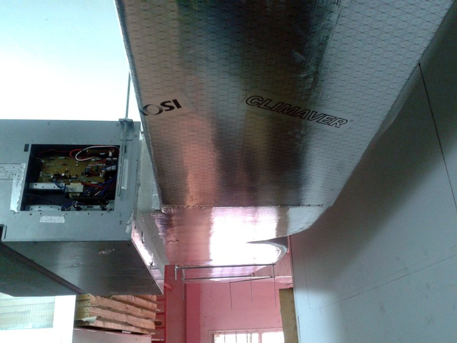 Foto aire acondicionado por conductos de alpha trading for Aire acondicionado por conductos opiniones