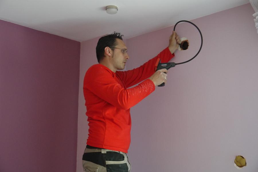 Insuflado en pared exterior para reducir ruido de trafico - Insonorizar una pared ...