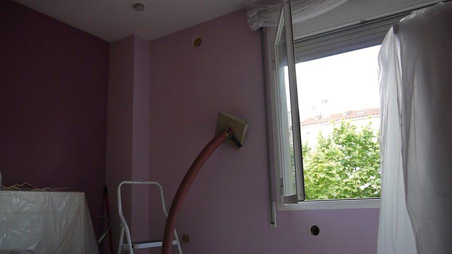 Insuflado en pared exterior para reducir ruido de trafico - Aislar pared ruido sin obras ...