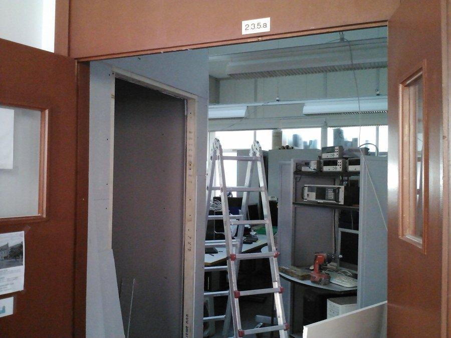 Aislamiento acústico en aula 2.3.5.a. de la facultad de ingeniería de Malaga