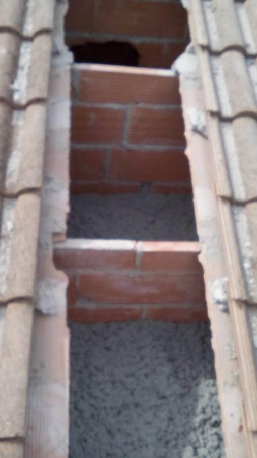 Aislamiento tejado tabiques palomeros