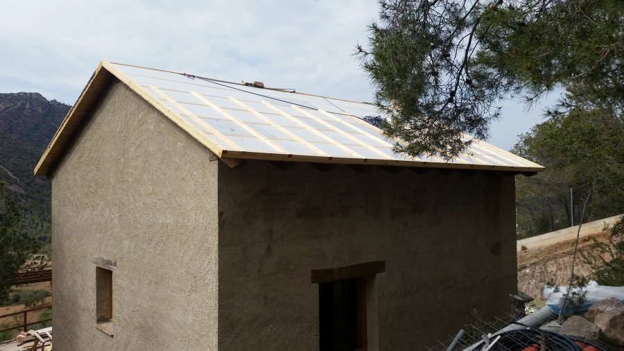 Aislamiento termico en cubierta