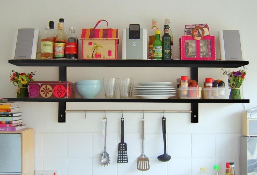 Consejos sobre las estanter as de la cocina ideas - Estanterias para la cocina ...