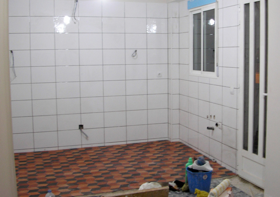 Foto alicatado cocina de lapuertatres 665178 habitissimo - Alicatado cocina ...