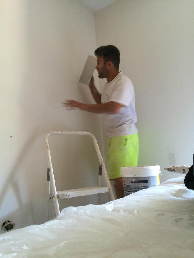 Alisar paredes paso a paso todo pintura alisar paredes - Pintar paredes estucadas ...