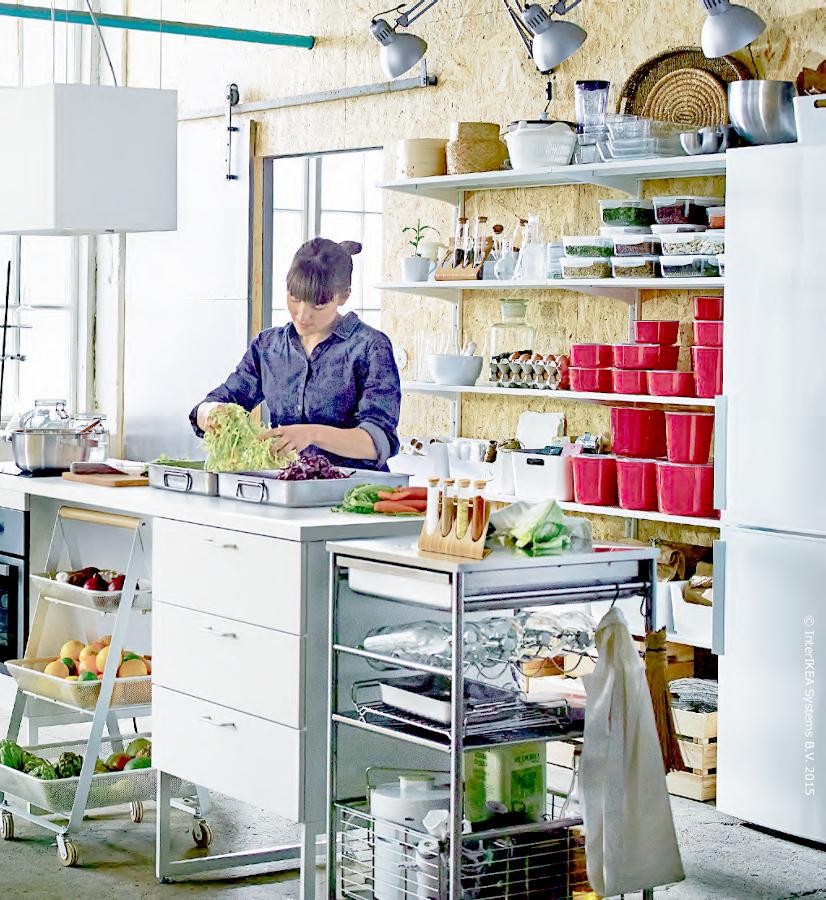 Descubre las tendencias en cocinas para 2016 seg n el - Botes almacenaje cocina ...