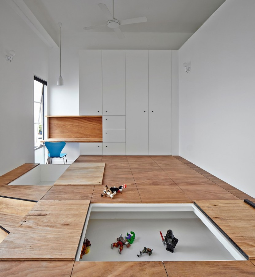 Gana espacio con estas incre bles ideas de almacenaje en for Ideas para suelos de interior