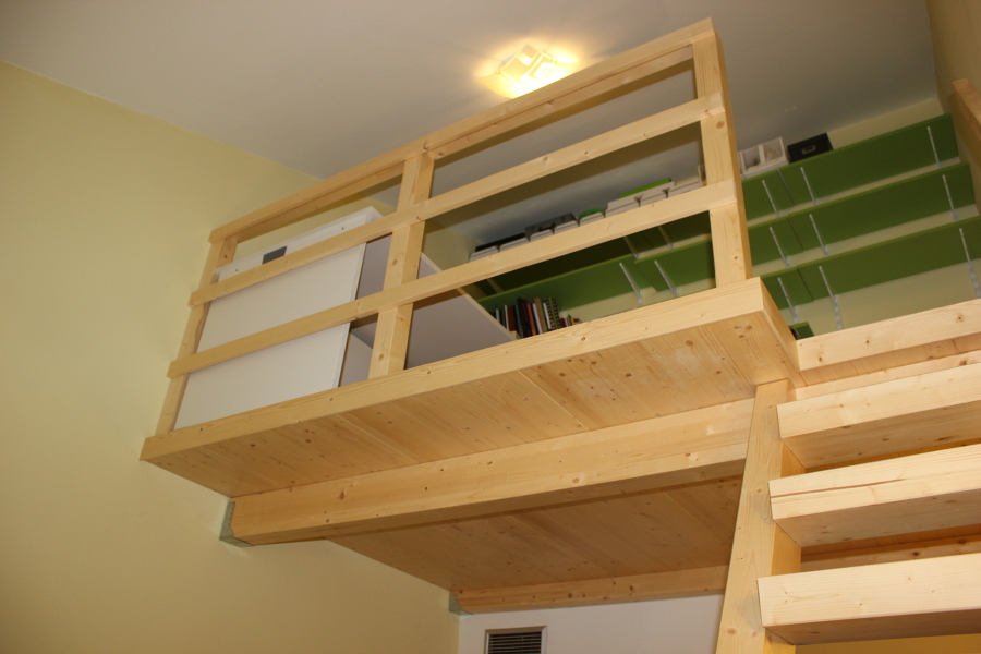 Altillos de madera ideas tejados - Altillo de madera ...