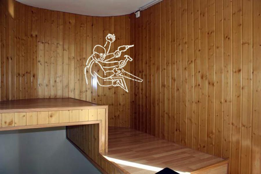 Ventanas de aluminio y pvc ideas carpinter a pvc - Como forrar una pared de madera ...